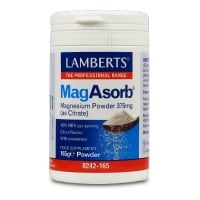 Lamberts MagAsorb Magnesium Citrate Powder 375 mg 165 gr