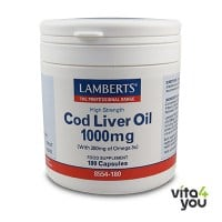 Lamberts Cod Liver Oil 1000 mg 180 caps