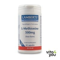 Lamberts L-Methionine 500 mg  60 caps