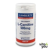Lamberts L-Carnitine 500 mg 60 caps