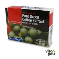 Lamberts Pure Green Coffee Extract 400 mg 60 tabs
