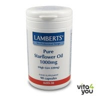 Lamberts Pure Starflower Oil 1000 mg 90 caps