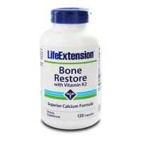 Life Extension Bone Restore with vitamin K2 120 caps