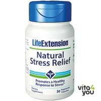 Life Extension Natural Stress Relief formula 30 veg. caps