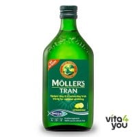 Moller's Cod Liver Oil Lemon 250 ml