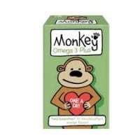 Monkey Omega Plus 30 chewable tabs
