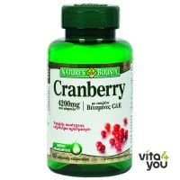 Nature's Bounty Cranberry with vitamins C & E 50 softgels