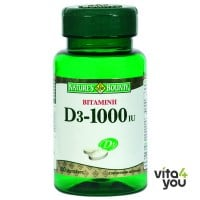 Nature's Bounty Vitamin D3 1000 IU 100 tabs