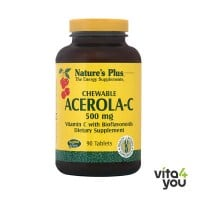 Nature's Plus Acerola-C Complex 500 mg 90 chewable tabs