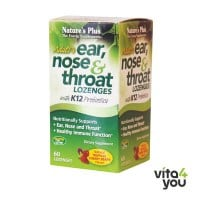 Nature's Plus Adult's Ear, Nose & Throat 60 Lozenges