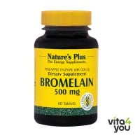 Nature's Plus Bromelain 500 mg 60 tabs