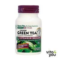 Nature's Plus Chinese Green Tea 750 mg 30 tabs
