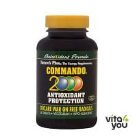 Nature's Plus Commando 2000 Antioxidant Protection 60 tabs