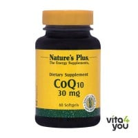 Nature's Plus CoQ10 30 mg 60 softgels