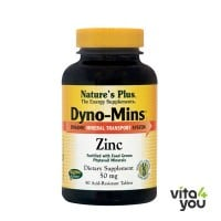 Nature's Plus Dyno-Mins Zinc 50mg 90 tabs