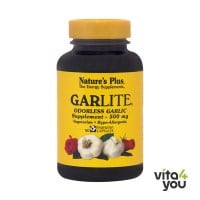 Nature's Plus Garlite - Odorless Garlic 500 mg  90 veg.caps