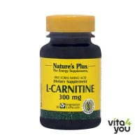 Nature's Plus L-Carnitine 300 mg 30 veg.caps