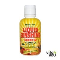 Nature's Plus Liquid Sunshine 5000 IU Vitamin D3 473 ml