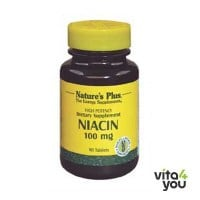 Nature's Plus Niacin 100 mg 90 tabs