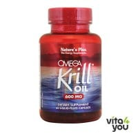 Nature's Plus Omega Krill Oil 600mg 60 Liquid caps
