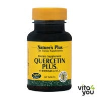 Nature's Plus Quercetin Plus with Vitamin C & Bromelain 60 tabs