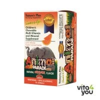 Nature's Plus Source of Life Animal Parade Orange Flavor 90 animals