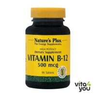 Nature's Plus Vitamin B12 500 mcg 90 tabs