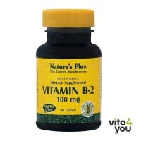 Nature's Plus Vitamin B2 100 mg 90 tabs