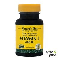 Nature's Plus Vitamin E 400 IU mixed Tocopherol 60 softgels