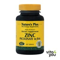 Nature's Plus Zinc Di-Picolinate 60 tabs