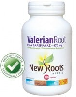 New Roots Valerian Root 470mg 100 caps