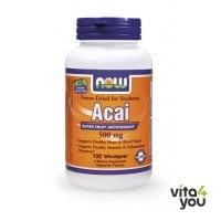 Now Acai 500 mg 100 Vcaps