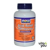 Now Acid Relief with Enzymes 60 chewables