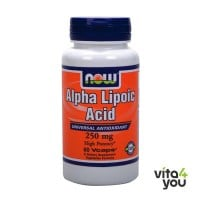 Now Alpha Lipoic Acid 250 mg 60 caps