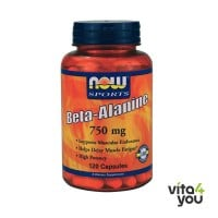 Now Sports Beta Alanine 750 mg 120 caps