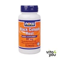 Now Black Cohosh Root 80 mg 90 caps
