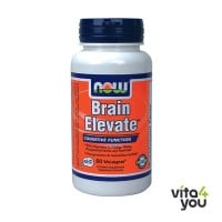Now Brain Elevate Vegetarian 60 Vcaps