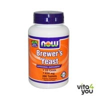 Now Brewer's Yeast 650 mg 200 tabs