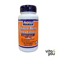 Now Chaste Berry-Vitex Extract 300 mg 90 Vcaps