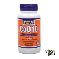Now CoQ10 200 mg 60 Vcaps
