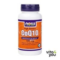 Now CoQ10 400 mg Vitamin E  30 softgels