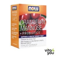 Now Cranberry Mannose & Probiotics 24 packets