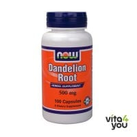 Now Dandelion Root 500 mg 100 caps
