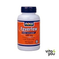 Now Feverfew 400 mg 100 caps