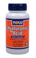 Now Hyaluronic Acid 50 mg 60 caps