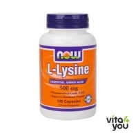 Now L-Lysine 500 mg 100 caps