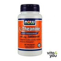 Now L-Theanine 100 mg  90 Vcaps®