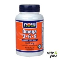 Now Omega 3-6-9 1000 mg 100 softgels