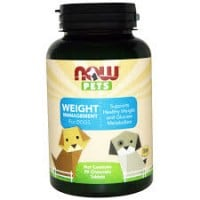 Now Pets Weight Management for dogs 90 chewable tabs