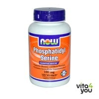 Now Phosphatidyl Serine 100 mg 30 Vcaps